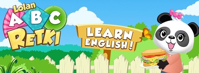 Lolan ABC-retki, opi englantia